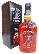 Jack Daniels 150th Birthday Bottle Rare Huge 1.75L  Size  Full/Sealed Tag & Box!
