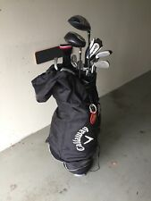 Callaway Cartbag Golftasche Golfbag mit komplettem Schlägersatz inclusive. Drive