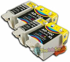 2 Sets of Advent 10 XL ABK10+ACL10 Compatible Ink Cartridge for A10 AW10 & AWP10