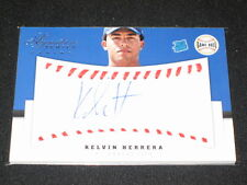 KELVIN HERRERA ROOKIE SIGNED AUTOGRAPHED AUTHENTIC PACK PULLED CERTIFIED CARD