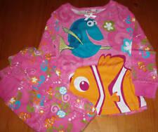 USA Disney Nemo Dori Fische Mädchen Baby langarm Pyjama Gr. 86 - NEU