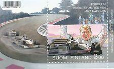 Finland 1999 MNH Sheet Mika Hakkinen Formula 1 Champion 1998 F1 - McLaren Racing