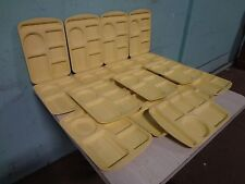 """Lot Of 16 """" Prolon """" Heavy Duty Commercial Melamine 5 Compartment Food Trays"""