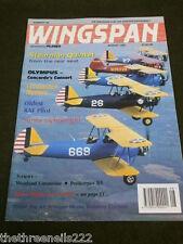 WINGSPAN #126 - STEARMAN QUINTET - AUG 1995