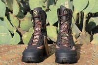 NEW Irish Setter Ridge Topper Mens Hunting Boots Brown Leather Camo 12 M Lace Up