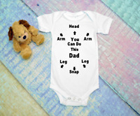 You can do this Dad/daddy  funny cute infant bodysuit unisex