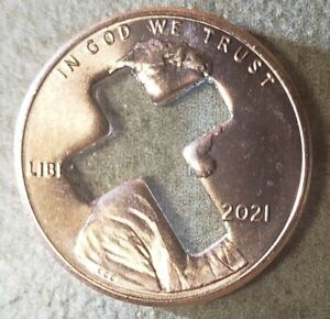 2021 Cross Pennies for Christian Ministries + Punch out's 100ct