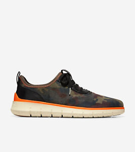Men's Cole Haan Generation ZERØGRAND Black Olive Suede Size 9.5