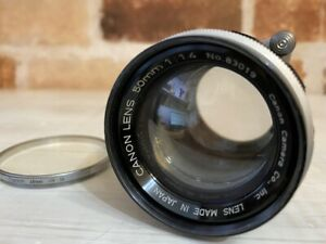 [Exc+4] Canon 50mm f/1.4 Lens L39 Leica Screw Mount LTM From JAPAN #514