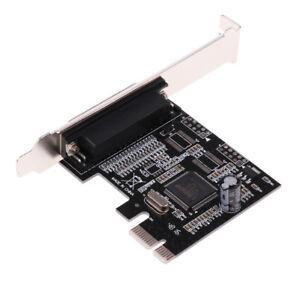 PCI-Express vers 2 Ports Série Rs232 Rs-232 COM + 1 Carte Parallèle LPT