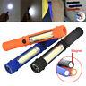 Mini Flashlight Light Bright COB LED Pocket Pen Torch Magnetic Inspection Lamp