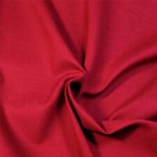 """Solid Red Cotton Fabric by Springs, No """"Orange""""! Per 1/2 Yd"""