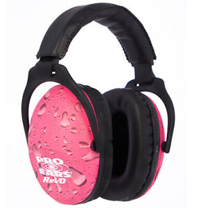 Pro Ears - ReVO - Hearing Protection - NRR 25 - Youth and Women Ear Muffs - Pink