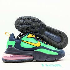 Nike Air Max 270 React Men's Running Training Shoes Green Yellow AO4971-300 NIB