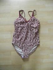 Badeanzug in lila-geblümt von BODYFLIRT Gr. 40 *NEU*