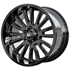 "4-17"" Inch V Rock VR11 Anvil 17X9.5 6x139.7(6x5.5"") -5mm Gloss Black Wheels Rims"