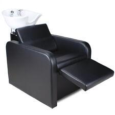 Friseurwaschsessel Friseur Waschplatz Friseurstuhl Elektrisch Rückwärtswaschsesl