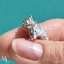 Sterling Silver Westie Dog Jewellery Charm