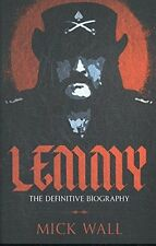 Lemmy: The Definitive Biography-Mick Wall-paperback-Motorhead