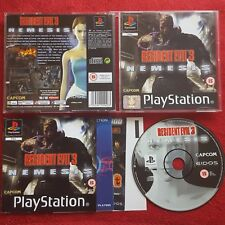 Resident Evil 3 Nemesis Original Black Label SONY PLAYSTATION PS1 PS2 PAL