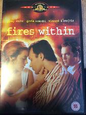 Greta Scacchi, Jimmy Smits, FIRES WITHIN ~ 1991 Erotic Drama | UK DVD