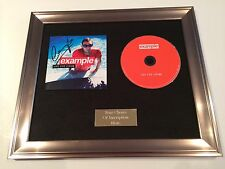 PERSONALLY SIGNED/AUTOGRAPHED EXAMPLE - LIVE LIFE LIVING FRAMED CD PRESENTATION