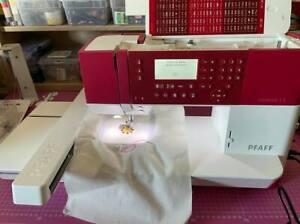 PFAFF Creative 1.5 Nähmaschine Stickmaschine Kaufdatum 07.01.2020 max. 240x150mm