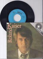 "Roland Kaiser, Quartett, AMIGA, VG/VG+ 7"" Single 0927-6"