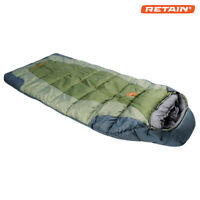 "New Arctic Shield Echo ""Mummy"" Winter Moss Sleeping Bag"