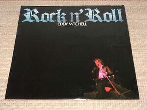 EDDY MITCHELL : RARE LP 33 TOURS / ROCK 'N ROLL BARCLAY 80442 ( pressage BIEM )