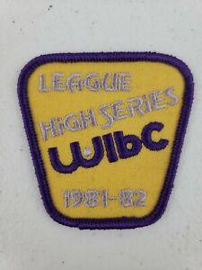 Vtg 1981- 82 Womens International Bowling Congress WIBC League High Series Patch