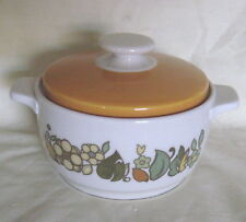 UNUSED Royal Doulton Forest Flower Fine Oven China Small Lidded Pot TC1086