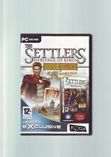 THE SETTLERS 5 V : HERITAGE OF KINGS GOLD EDITION - RTS PC GAME - COMPLETE - VGC
