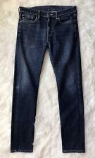 "Men's LEVI Strauss & Co. 510 Red Tab Dark Blue Jeans Waist 32"" Leg 32"" 32x32"