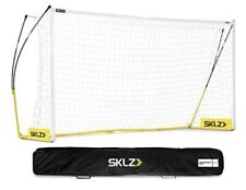 "SKLZ Soccer Pro Training Goal 18'6"" x 6'6"" w/ Wheeled Carrying Case"