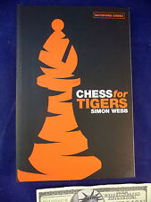 Chess Book Simon Webb for Tigers Batsford Publication