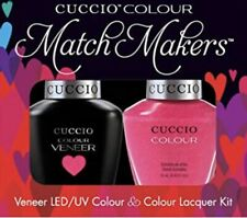 Cuccio MatchMaker 'Totally Tokyo' X2 13ml - Gel & Varnish Kit -Fuchsia with Gold