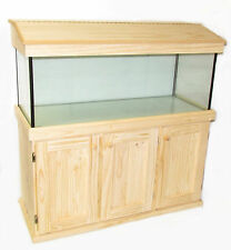 "Fish Tank  4ft x 14"" x 20"" High with Cabinet and Hood"