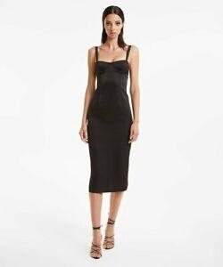 KSUBI FIXATE DRESS BLACK - SMALL - RRP £205.00