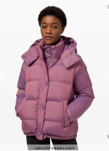 Lululemon wunder puffer Jacket US6 SOLD OUT