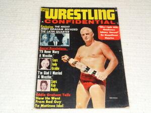 Wrestling Confidential VTG Magazine Vol. 1 No. 1 1964 Buddy Rogers Bobby Davis