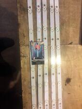 Barrettes LED( kit complet ) L/R: GJ-2K16-430-D512-V4 pour PHILIPS 43PUS6401