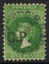 "STAMPS-SOUTH AUSTRALIA. 1871. 1d ""GP"" (Govt Printer) Departmental Ovpt. SG: 90vO"
