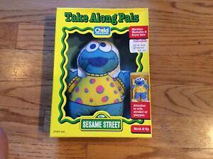 Sesame Street Cookie Monster Take Along Pal Baby Doll Toy Playskool