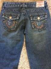 """True Religion Womens Jeans Size 28 Style Bobby Inseam 31.5"""""""