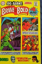 BRAVE AND THE BOLD 80 Page Giant Annual 1969