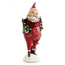8.5 Inch Santa holding Trees by KK Interiors, Inc #51833D