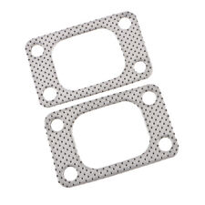 2Pcs Flange Gasket Universal for T3/T4 T35 T38 GT35 Turbo Manifold 4-Bolt