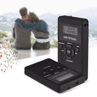 Portable Handheld DAB+ DAB Digital FM Radio LCD Pocket Rechargeable Battery +USB