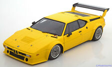 1:18 Minichamps BMW M1 E26 Procar Plain Body Version 1979 yellow